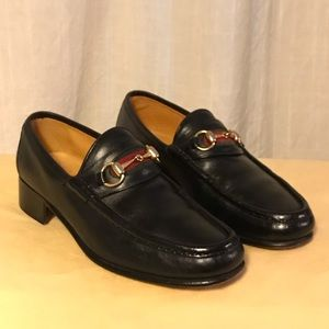 AUTH GUCCI Horsebit Loafers